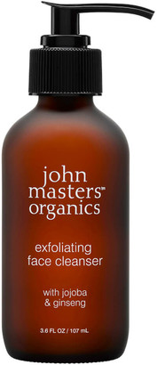 John Masters Organics Exfoliating Face Cleanser with Jojoba & Ginseng 112ml