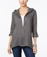 Style&Co. Style & Co Roll-Tab Hoodie, Only at Macy's