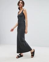 Vero Moda Stripe Jersey Maxi Dress
