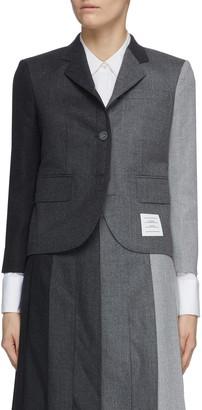 Thom Browne 'Funmix' contrast panel blazer