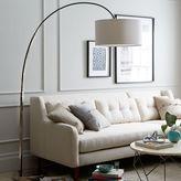 west elm Overarching Floor Lamp - Polished Nickel