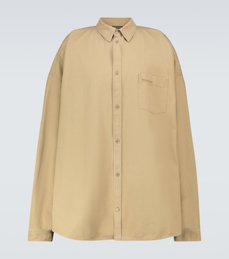 Balenciaga Cocoon long-sleeved shirt