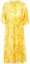 Sonia Rykiel belted floral dress