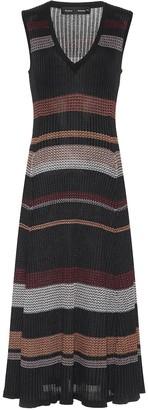 Proenza Schouler Striped knit midi dress
