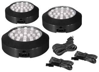 Maxim Lighting CounterMax MX-LD LED Under Cabinet Puck Light Kit Maxim Lighting Finish: Black