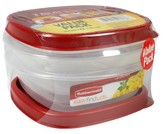 Rubbermaid Easy Find Lids Food Storage Container, 1.25 Cup, 2-pack