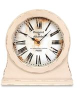 Bed Bath & Beyond Wood Table Clock in White