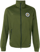 Nike F.C. track jacket - men - Cotton/Polyester - S