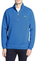 Tommy Bahama Men's Big & Tall Nassau Quarter Zip Pullover
