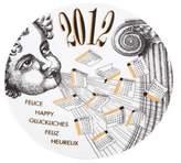 Fornasetti 2012 Calendar Plate #45