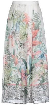 Black Coral Long skirt