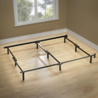 Adjustable-Size Bed Frame Alwyn Home