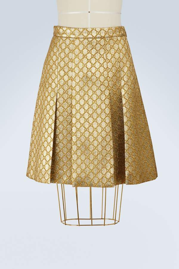 2c0f8a5a5 Gucci Gold Skirts - ShopStyle Australia