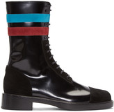 Raf Simons Black Stripes Boots