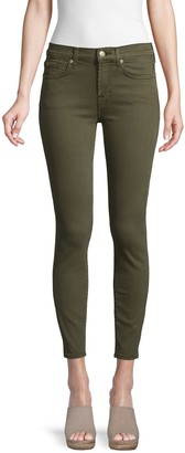 7 For All Mankind Gwenevere Squiggle Ankle Skinny Jeans