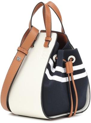 Loewe Hammock Sailor Mini leather shoulder bag