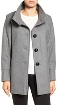 Larry Levine Women's Wool Blend Swing Coat