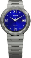 Jowissa Women's J1.168.L Soletta Automatic Steel and Tungsten Blue Dial Watch