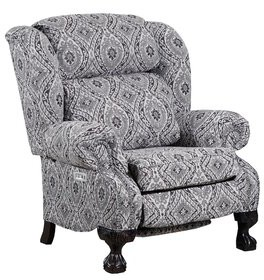 Astoria Grand Tremblay Hi Leg Power Recliner Upholstery Color: Henna, Reclining Type: Power