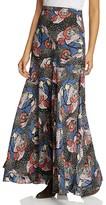 Free People Pebble Crepe Maxi Skirt