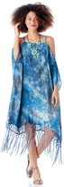 Sole Society Tie Dye Print Cover-up