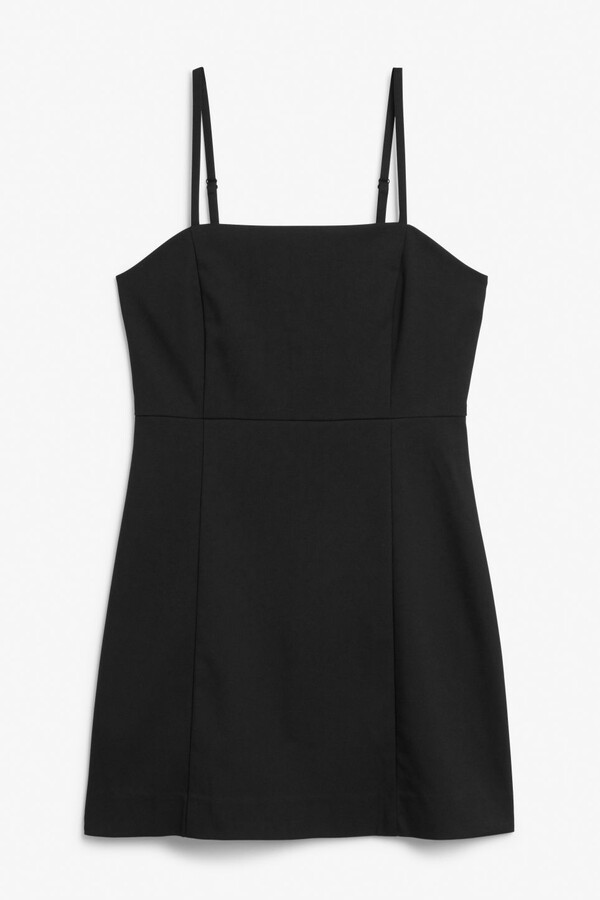 Thumbnail for your product : Monki Spaghetti strap mini dress