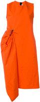 Marni parachute style dress - women - Cotton/Linen/Flax - 40