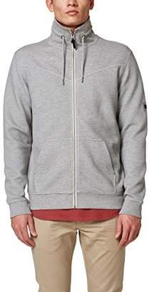 Esprit edc by Men's 028cc2j002 Sweatshirt, Grey 030, Small
