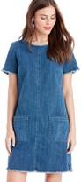 Sole Society Indigo Denim Shirt Dress
