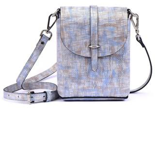 Hiva Atelier Astrum Straw Leather Bag Silver