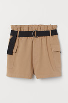 H&M Belted utility shorts