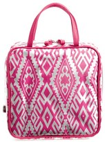 Nordstrom Steph&co. 'Tahiti' Dual Handle Cosmetics Case