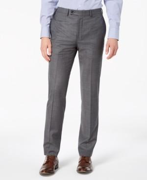 Calvin Klein Men's X-Fit Slim-Fit Stretch Suit Pants