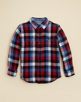 Tailor Vintage Boys' Reversible Buffalo Plaid Shirt - Sizes 4-14