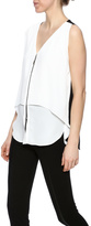 Joseph Ribkoff Zipper Front Top
