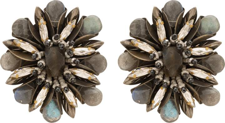Deepa Gurnani Aryssa Clip-on Earrings