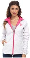U.S. Polo Assn. Mock Neck Hooded Windbreaker Jacket