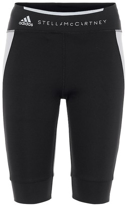 adidas by Stella McCartney Technical-jersey short leggings