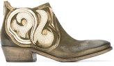 Fausto Zenga twirled trim boots