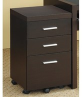 Lehigh 3-Drawer Mobile Vertical Filing Cabinet Ebern Designs