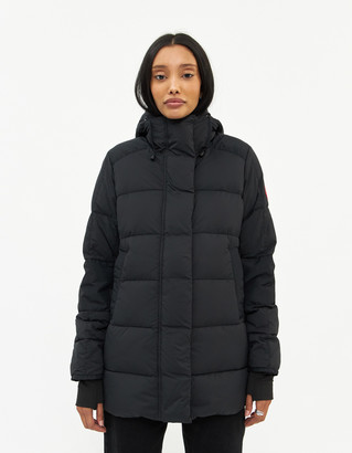 Canada Goose Women's Alliston Jacket in Black, Size Extra Small | Fleece