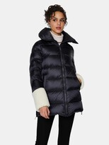 Thumbnail for your product : Dawn Levy Emmie Frost Mixed Media Midweight Puffer