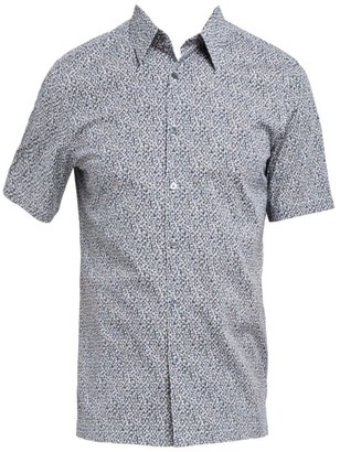 Theory Irving Standard-Fit Cast Print Sport Shirt