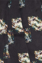 Theyskens' Theory Istone printed silk shorts