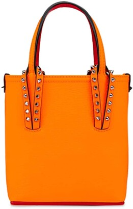 Christian Louboutin Cabata N/s Mini Desert Leather Tote Bag