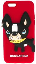 DSQUARED2 dog iPhone 6s case - women - Silicone - One Size