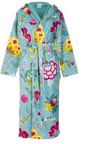 Pip Studio Floral Fantasy Light Petrol Bathrobe