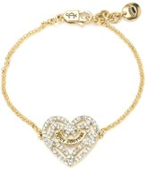 Juicy Couture Pave Open Heart Iconic Bracelet
