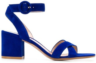 Gianvito Rossi Frida block-heel sandals
