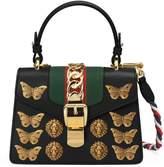 Gucci Sylvie animal studs leather mini bag